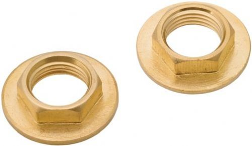 Deva DSPBBN102 3/4'' Bath Tap Brass Back Nuts (pair)